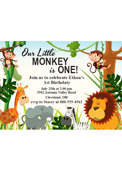 our little mnkey with info